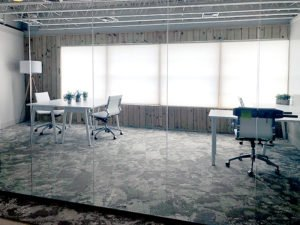 Coworking private offices