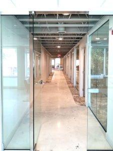 Sandhouse hallway