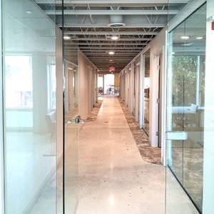 Sandhouse Coworking entrance in Miami Beach